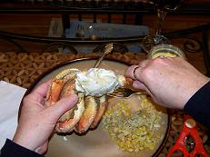 eating-dungeness-crab