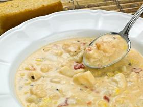 Crab and Corn Chowder-courtesy Istock.com