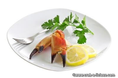 Stone Crab Claw Appetizer