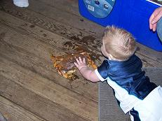 grandson-loves-crab