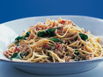 Linguine with Crab-Courtesy-Pauls Cooking.com