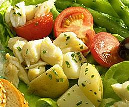 Crab Salad Nicoise