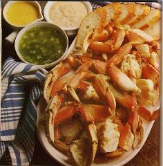Crab Legs Recipe With Dips